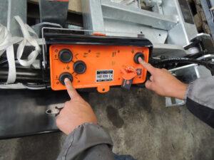 最新熱賣產品:尾板雙手控制箱(雙手操控裝置)